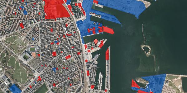 Jordforureningskort på Marmorvej 23, 2. th, 2100 København Ø