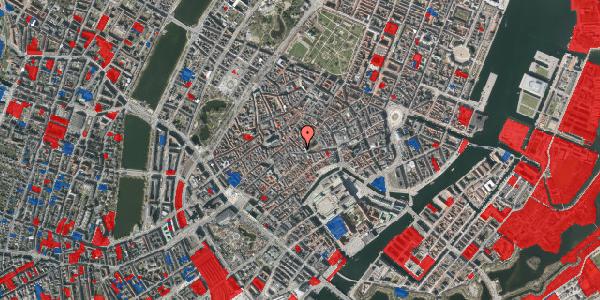Jordforureningskort på Klosterstræde 1, 3. , 1157 København K