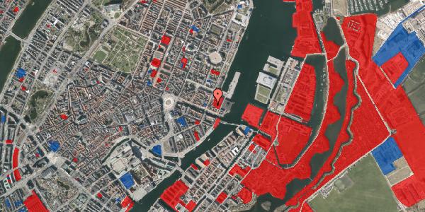 Jordforureningskort på Nyhavn 57C, 1051 København K