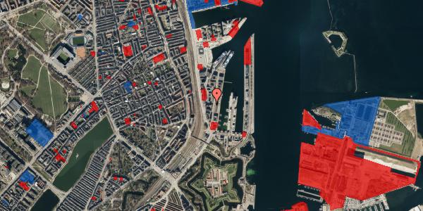 Jordforureningskort på Amerika Plads 3A, 2. mf, 2100 København Ø