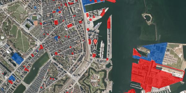 Jordforureningskort på Amerika Plads 3A, 4. mf, 2100 København Ø