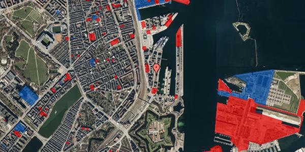 Jordforureningskort på Amerika Plads 3A, kl. 18, 2100 København Ø