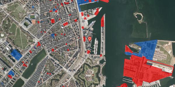 Jordforureningskort på Amerika Plads 3A, kl. 12, 2100 København Ø