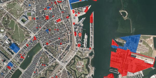 Jordforureningskort på Amerika Plads 3C, 3. tv, 2100 København Ø