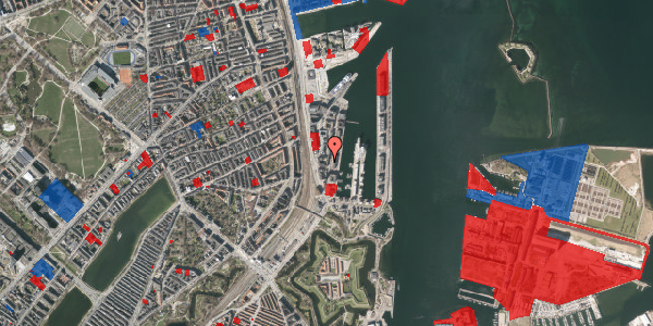 Jordforureningskort på Amerika Plads 3C, 3. th, 2100 København Ø