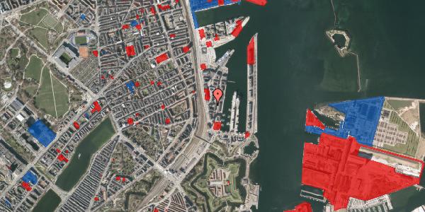 Jordforureningskort på Amerika Plads 3E, 1. th, 2100 København Ø