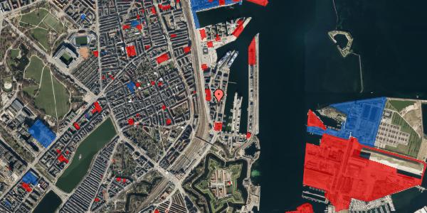 Jordforureningskort på Amerika Plads 3E, 3. tv, 2100 København Ø