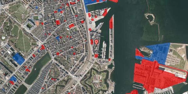 Jordforureningskort på Amerika Plads 3E, 5. tv, 2100 København Ø
