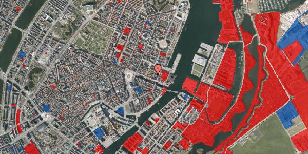 Jordforureningskort på Nyhavn 43A, 1. tv, 1051 København K