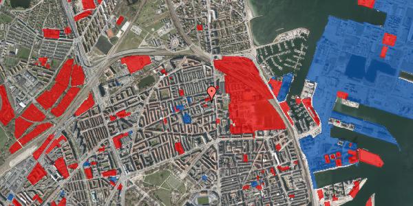 Jordforureningskort på Nygårdsvej 3D, 2100 København Ø