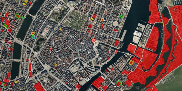 Jordforureningskort på Østergade 3, 2. , 1100 København K
