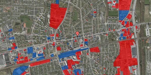 Jordforureningskort på Heggelunds Alle 1, 2600 Glostrup
