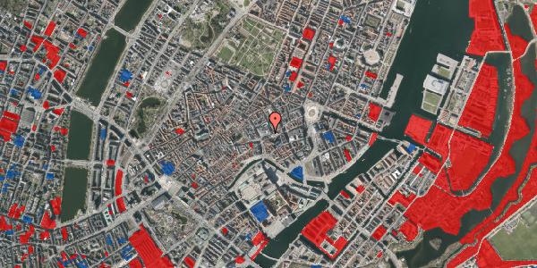 Jordforureningskort på Østergade 52, 1100 København K