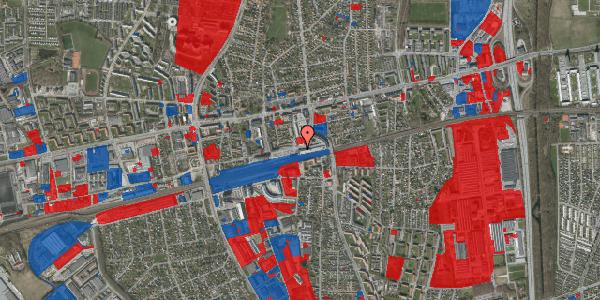 Jordforureningskort på Banegårdsvej 8, 2600 Glostrup