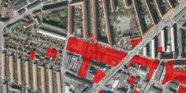 Jordforureningskort på Dortheavej 42, 1. 3, 2400 København NV