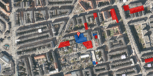 Jordforureningskort på Viborggade 70B, st. , 2100 København Ø