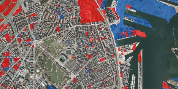 Jordforureningskort på Viborggade 46, st. , 2100 København Ø