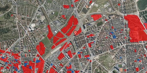 Jordforureningskort på Rovsingsgade 40, 2100 København Ø
