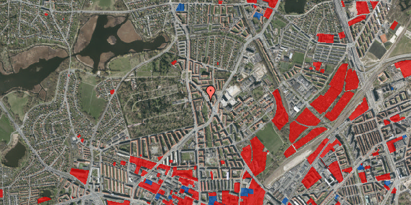 Jordforureningskort på Tagensvej 241C, 2400 København NV