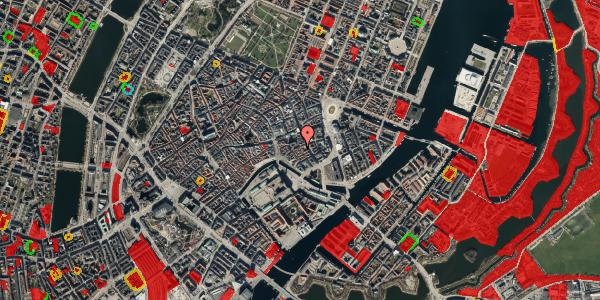 Jordforureningskort på Nikolajgade 18, 1. 3, 1068 København K