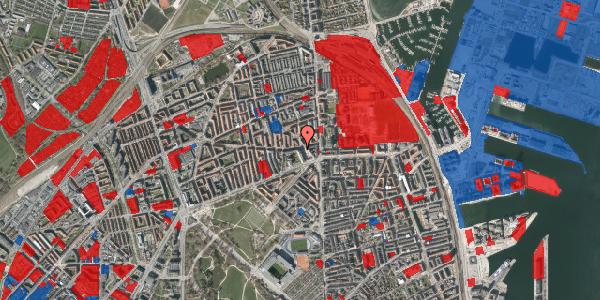 Jordforureningskort på Tåsingegade 11, 2100 København Ø