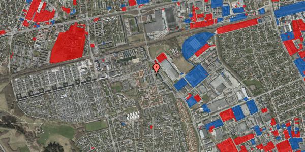 Jordforureningskort på Grønkløvervænget 8, 2625 Vallensbæk