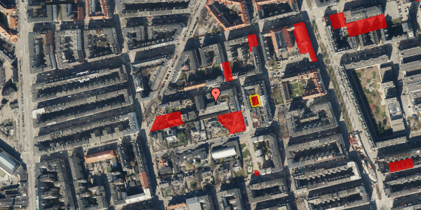 Jordforureningskort på Viborggade 70D, 2. , 2100 København Ø