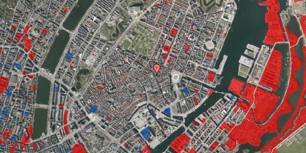 Jordforureningskort på Gammel Mønt 3B, 1117 København K