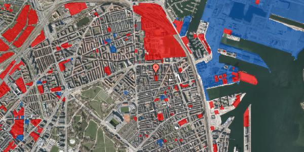Jordforureningskort på Vordingborggade 22, 2100 København Ø