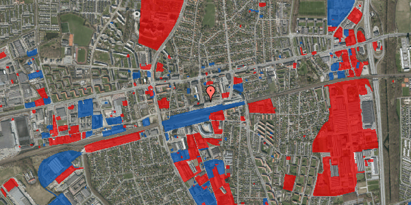 Jordforureningskort på Sydvestvej 8, 3. th, 2600 Glostrup