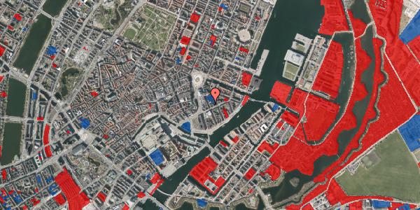 Jordforureningskort på Tordenskjoldsgade 17, 4. th, 1055 København K