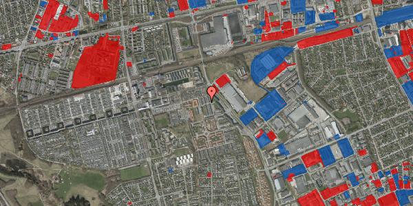 Jordforureningskort på Kløvervænget 20, 2625 Vallensbæk