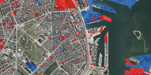 Jordforureningskort på Strandboulevarden 51, 2100 København Ø