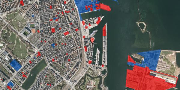 Jordforureningskort på Amerika Plads 24B, 3. 2, 2100 København Ø