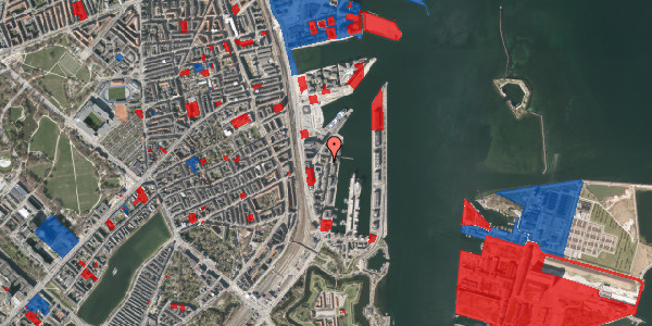 Jordforureningskort på Amerika Plads 24B, 5. 3, 2100 København Ø