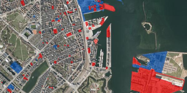 Jordforureningskort på Amerika Plads 24B, 2. 2, 2100 København Ø