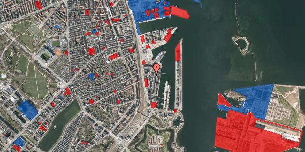 Jordforureningskort på Amerika Plads 24D, st. , 2100 København Ø