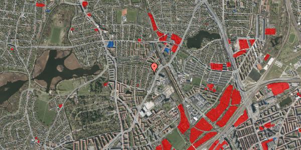 Jordforureningskort på Magdelonevej 20A, 2400 København NV