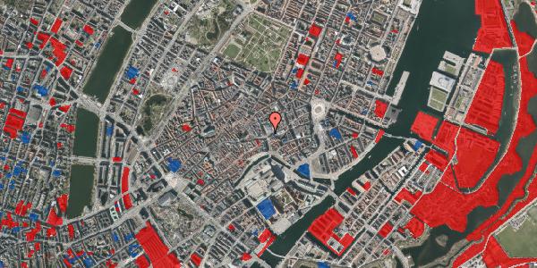Jordforureningskort på Østergade 60, 5. , 1100 København K