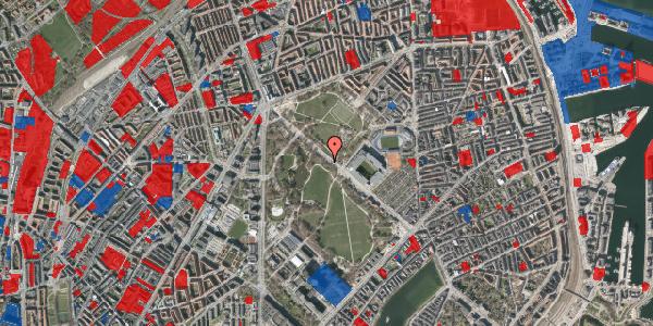 Jordforureningskort på Øster Allé 41, 2100 København Ø
