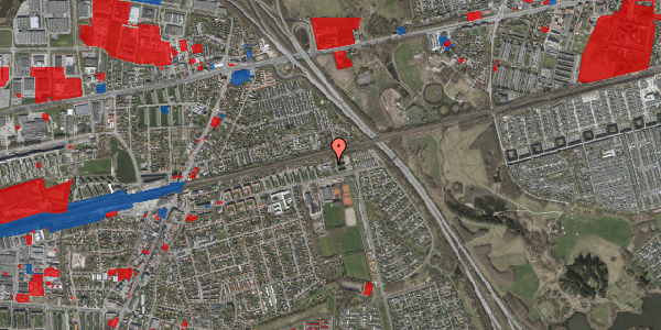 Jordforureningskort på Parkvej 135A, st. , 2630 Taastrup
