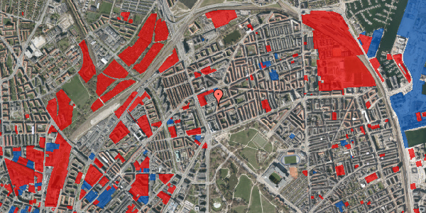 Jordforureningskort på Lyngbyvej 28, 1. th, 2100 København Ø