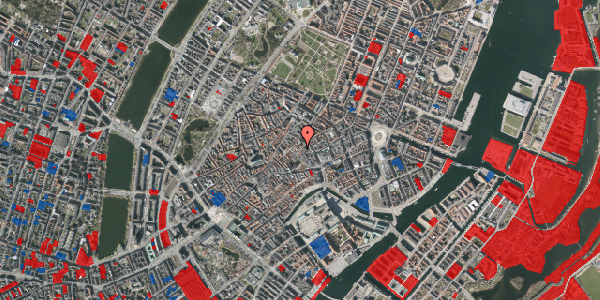 Jordforureningskort på Valkendorfsgade 4, 1. , 1151 København K