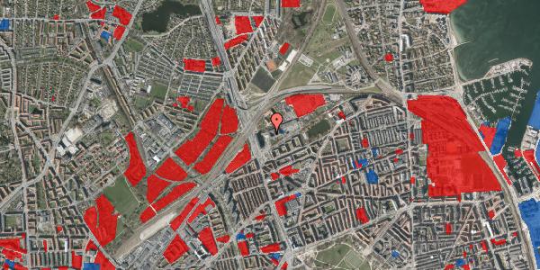 Jordforureningskort på Hans Knudsens Plads 3D, st. , 2100 København Ø