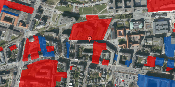 Jordforureningskort på Howitzvej 51A, 1. th, 2000 Frederiksberg