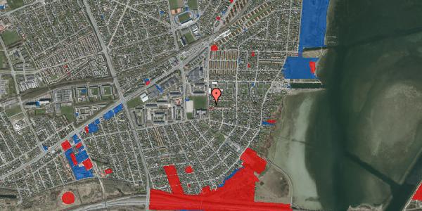 Jordforureningskort på Strandmarksvej 47A, 2650 Hvidovre