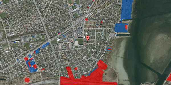 Jordforureningskort på Strandmarksvej 47B, 2650 Hvidovre