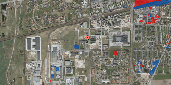 Jordforureningskort på Niebuhr Gade 8, 1. , 2630 Taastrup
