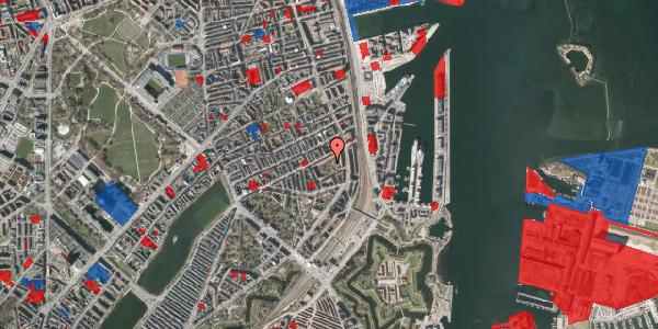 Jordforureningskort på Arendalsgade 6B, 2100 København Ø