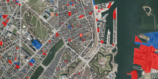 Jordforureningskort på Lipkesgade 5B, 4. tv, 2100 København Ø